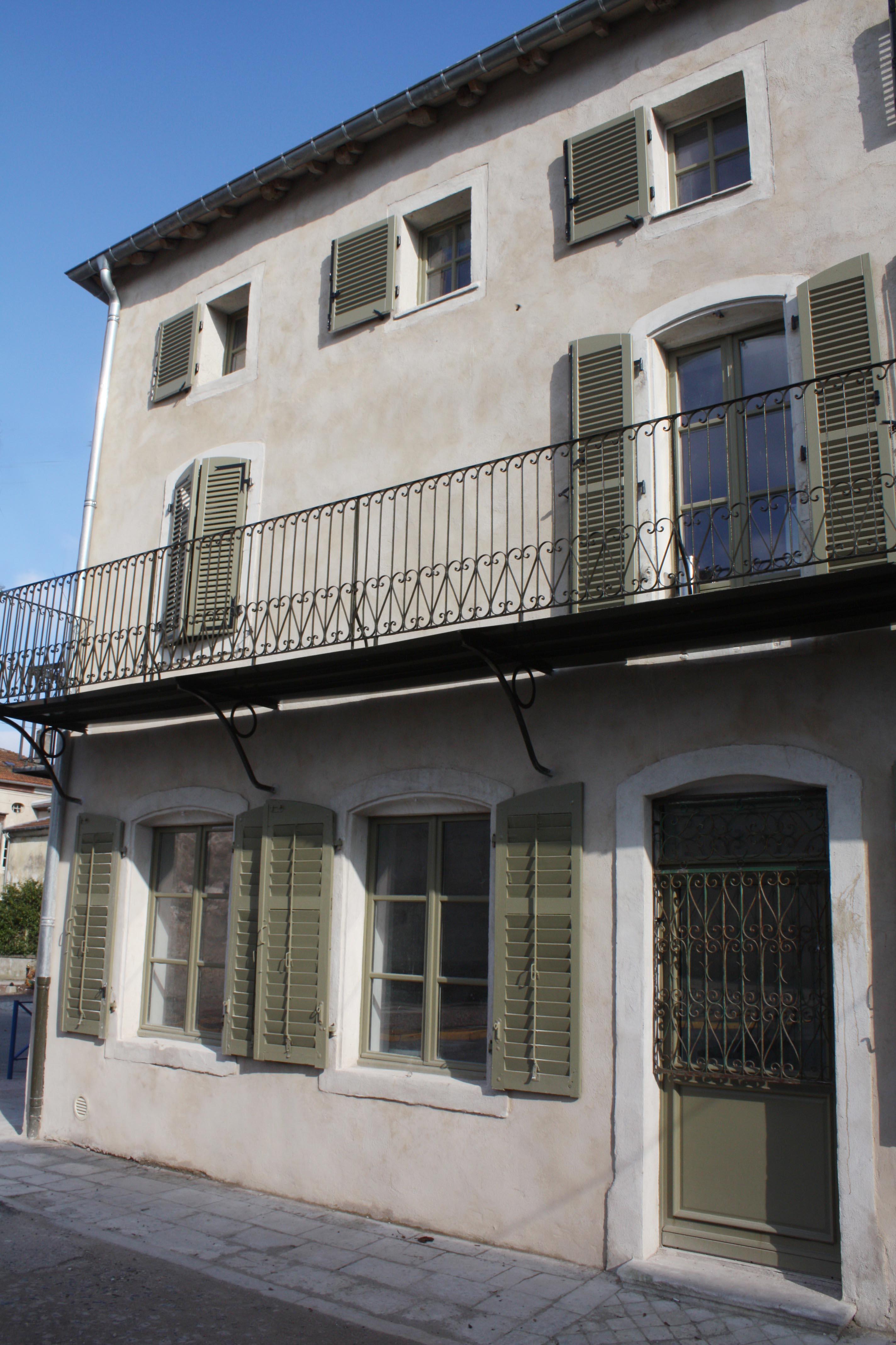 détail façade restaurée