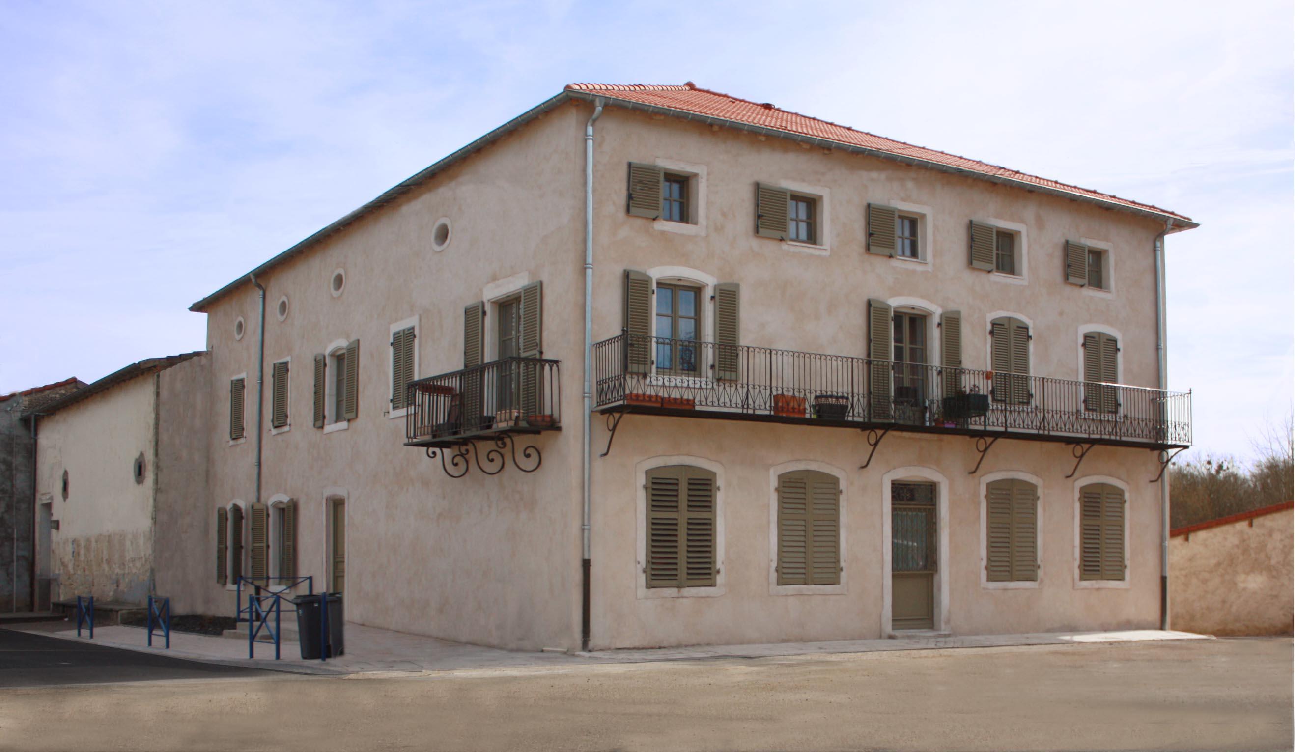 facade principale restaurée